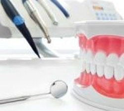 dental model and dental tools