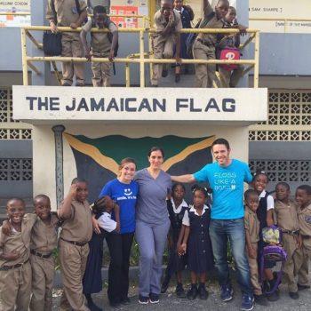 Pure team in Jamaica