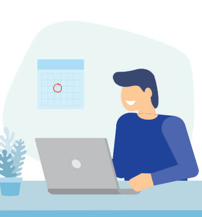 patient scheduling appointment online icon